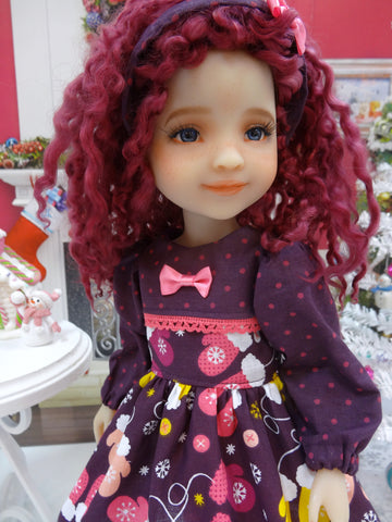 Warm Mittens - dress ensemble for Ruby Red Fashion Friends doll