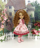 Wild Rose - dress with boots for Ruby Red Fashion Friends doll