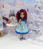 Winter Deer - dress for Ruby Red Fashion Friends doll