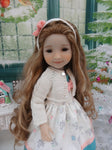 Winter's Gifts - dress & sweater ensemble for Ruby Red Fashion Friends doll