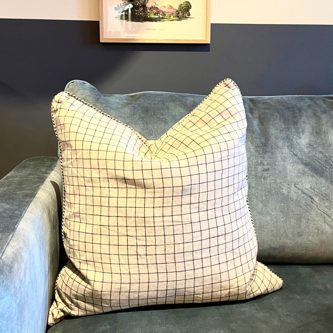 Coussin à rayures
