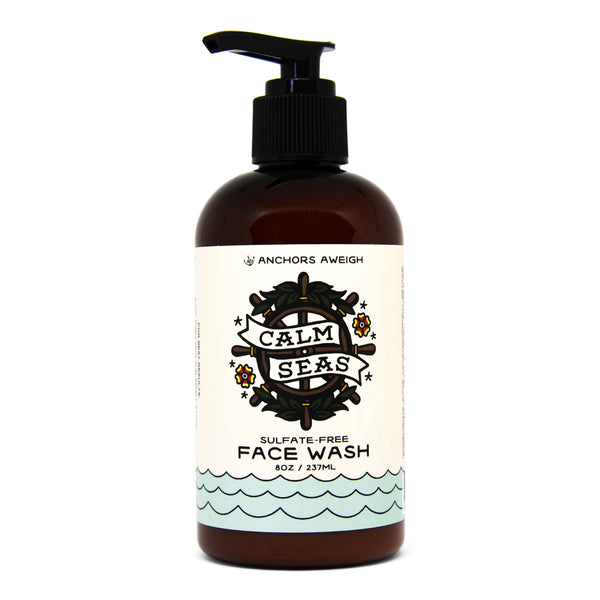Anchors Aweigh Calm Seas Natural Face Wash