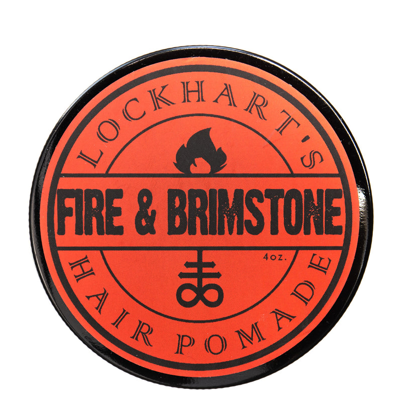 Lockhart's Fire & Brimstone Heavy Hold Pomade