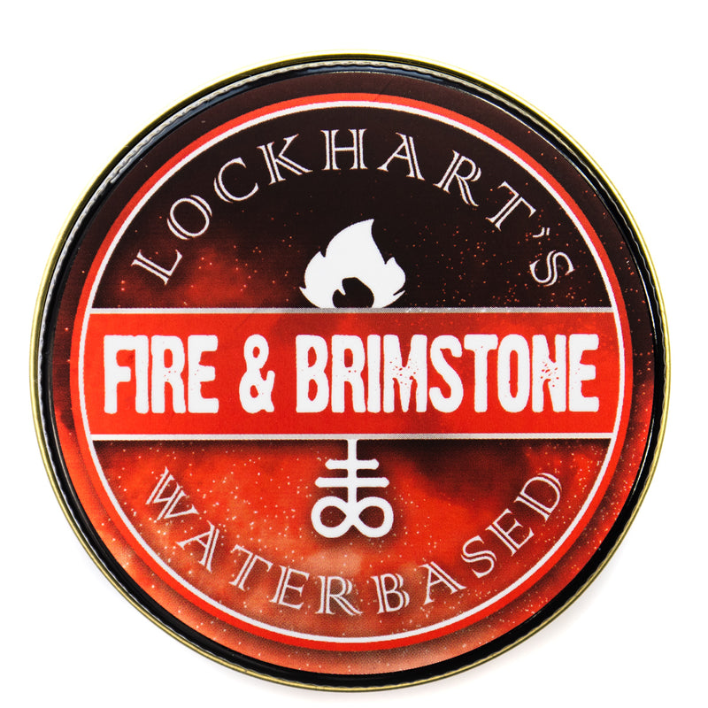 Lockhart's Fire & Brimstone Water Based Pomade