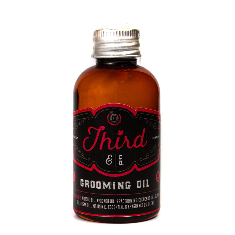 Third & Co. Grooming Oil
