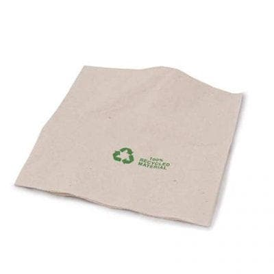 Brown Compostable Double Ply Napkin 330mm - Paper