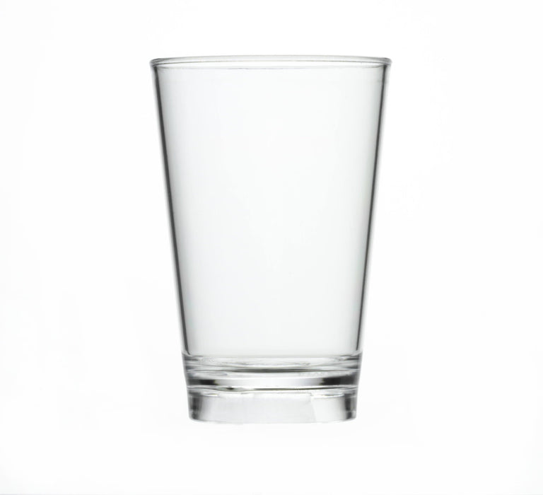 Clear Reusable Plastic Tumbler Glass 200ml  - Crystal Polystyrene