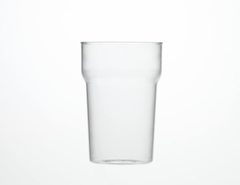 Clear Reusable Plastic Nonic Half Pint Glass 284ml - Polycarbonate CE Stamped to Rim