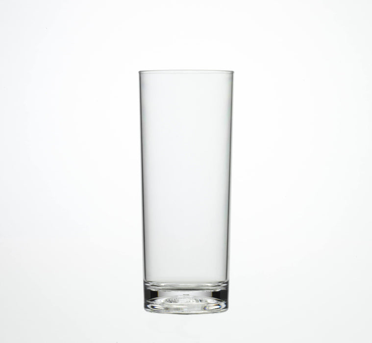 Clear Reusable Plastic Hi-ball Glass 340ml  - Polycarbonate