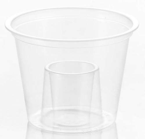 Clear Disposable Plastic Bomb Shot Glass 25ml - Polypropylene