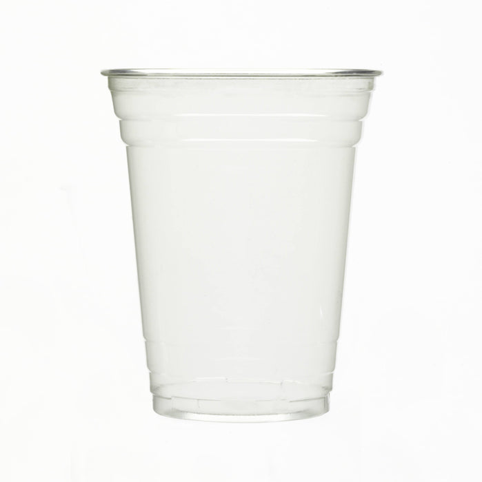 Clear Recyclable Plastic Cup 300ml - PET