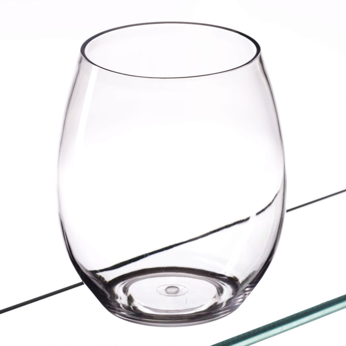 Clear Reusable Plastic Premium Water Glass 390ml - Tritan