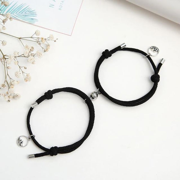 Magnetic Couple Bracelet