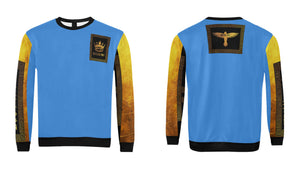 Crown Blue and Gold Crewneck Sweatshirt