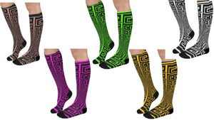 Raven Unisex Knee High Socks (Qty1)