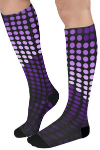 Purple Female Knee High Socks (Qty 1)