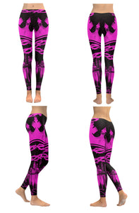 Pink God of the City Leggings