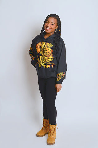 Fearless Lion Gold II Hoody