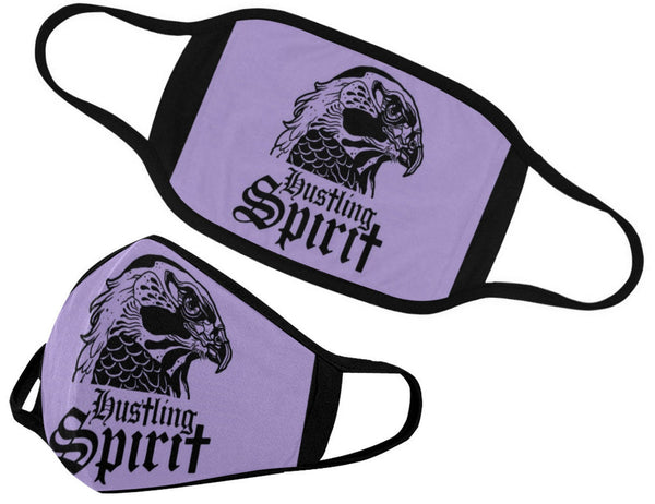 Raven Purple Print Face Mask (2 Filters Included)