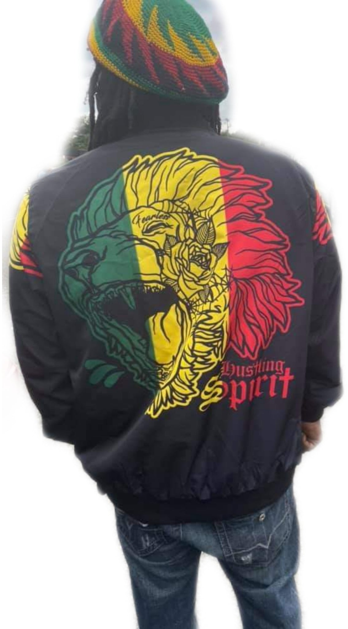 Fearless Lion X Freedom  Spring Bomber Jacket