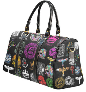 HS Limited Edition All Over Stickers Weekender Travel Bag (Lrg)