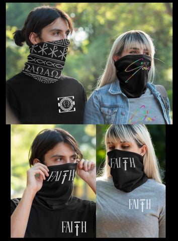 Full Face Bandana In Stock (Immediate Shipping )