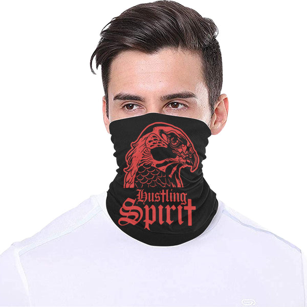 Full Face Bandana Raven