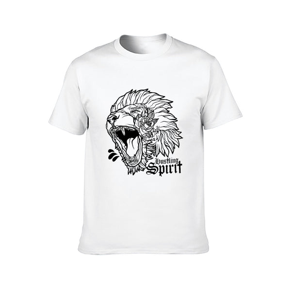 Fearless Lion Classic Unisex Tee (Front Print)
