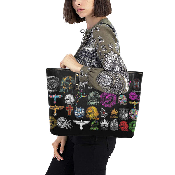 HS Limited-Edition Stickers Large Tote Bag
