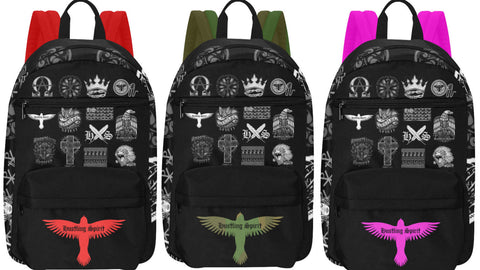 Hustling Spirit Multi Designs Limited Edition Large Capacity Travel Backpack