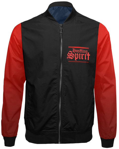 Never Fold Red Unisex Flight Jacket