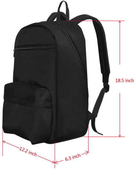 Footsteps Cross MultiColor Large Capacity Travel Backpack