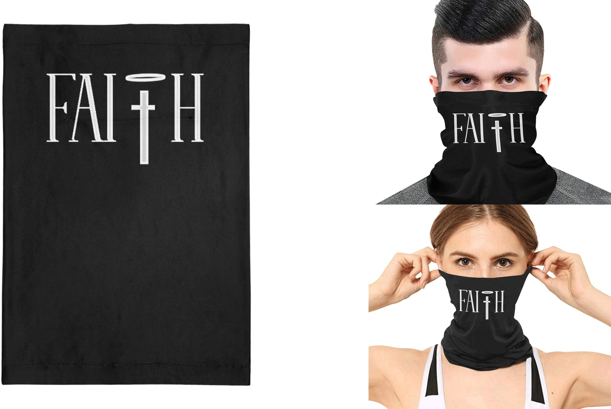Faith Full Face Bandana