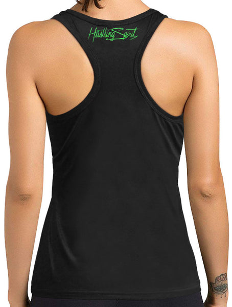 Raven Female Racerback Tank Top