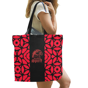 Raven Red Symphony Large Tote Bag
