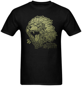 Fearless Lion Olive Green Tee