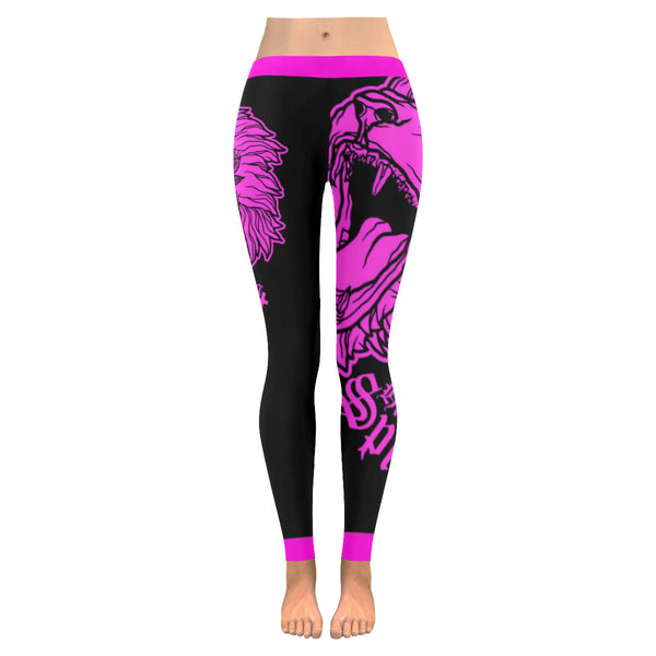 Fearless Lion Hot Pink Leggings