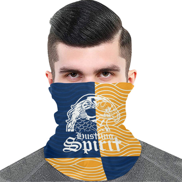 Full Face Bandana Raven Blue