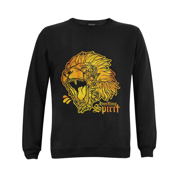 Fearless Lion Gold Classic Crewneck Sweatshirt