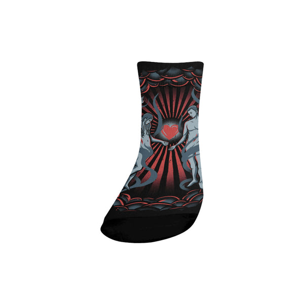 Bone of my Bones Quarter Socks (1 Pair)