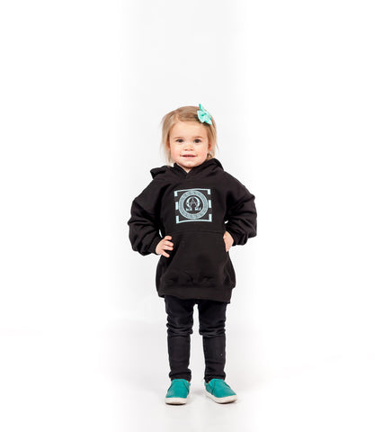 AΩ Crew Neck Turquoise Sweatshirt  (Kids Sizes)