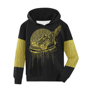 Footsteps Gold Column Kids Hoody
