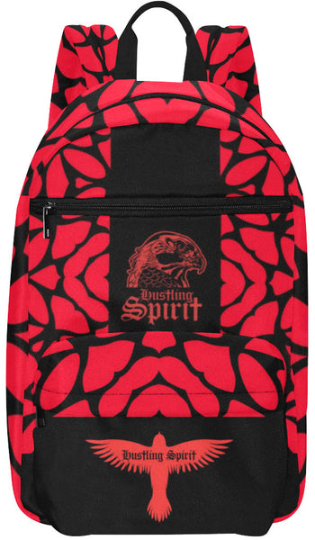 Raven Red Symphony Large Capacity Travel Backpack