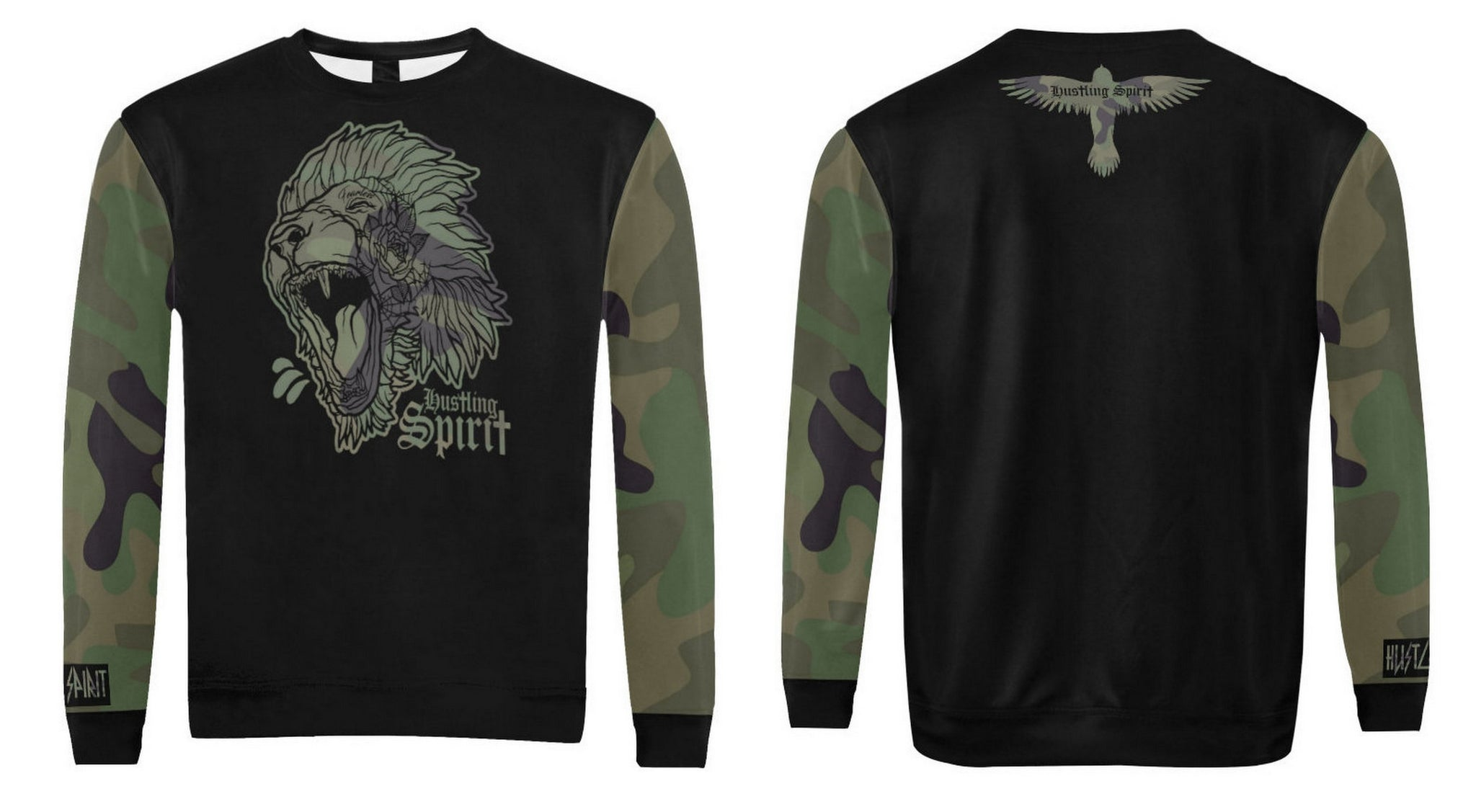 Fearless Lion Camo Sweatshirt