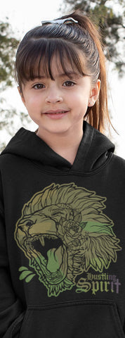 Fearless Lion Army Kids Unisex Hoody