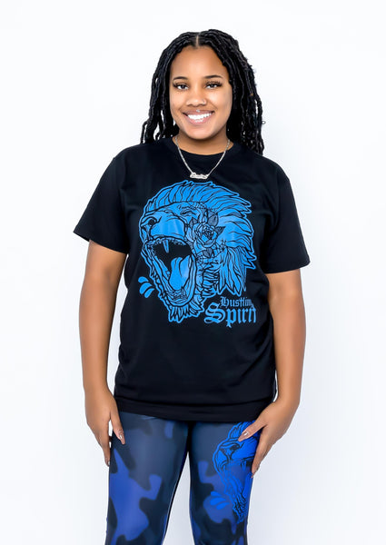 Fearless Lion Color Tee (Unisex)