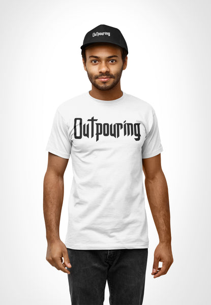 Outpouring Cotton Unisex Tee (Front Print Only)
