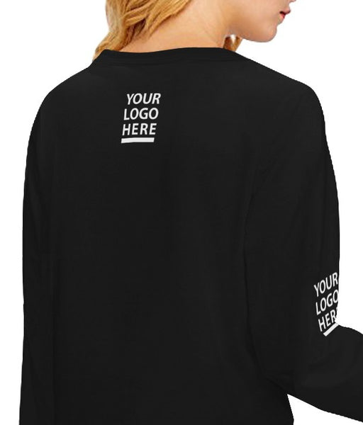 Alumni Crop Top Sweatshirt (Qty=1)