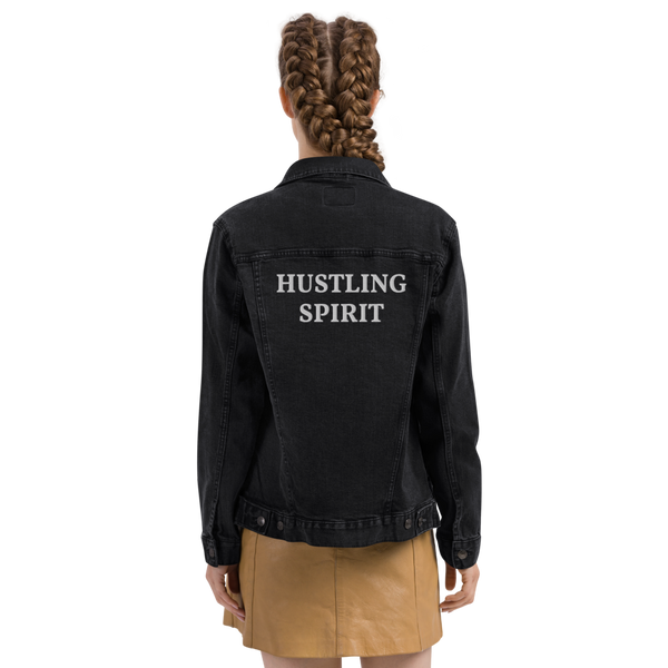 Hustling Spirit Essential Unisex Denim Jacket