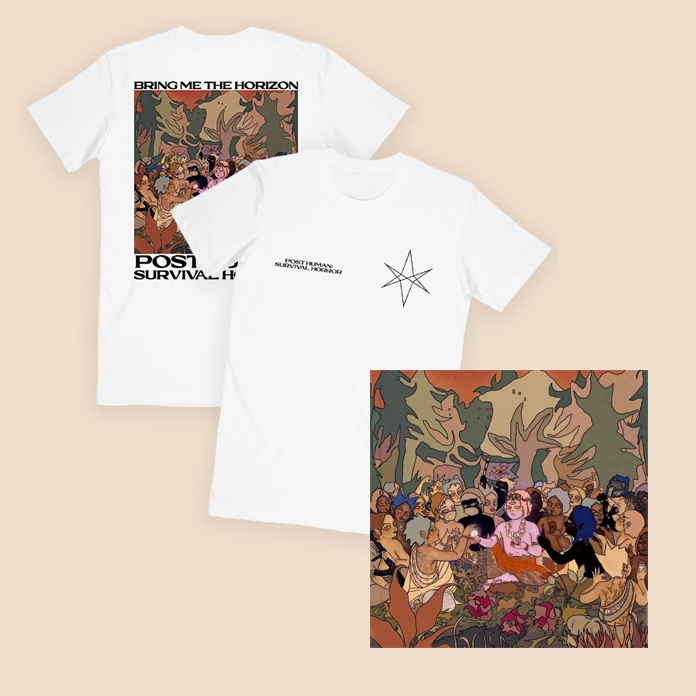 Post Human: Survival Horror Album + T-Shirt